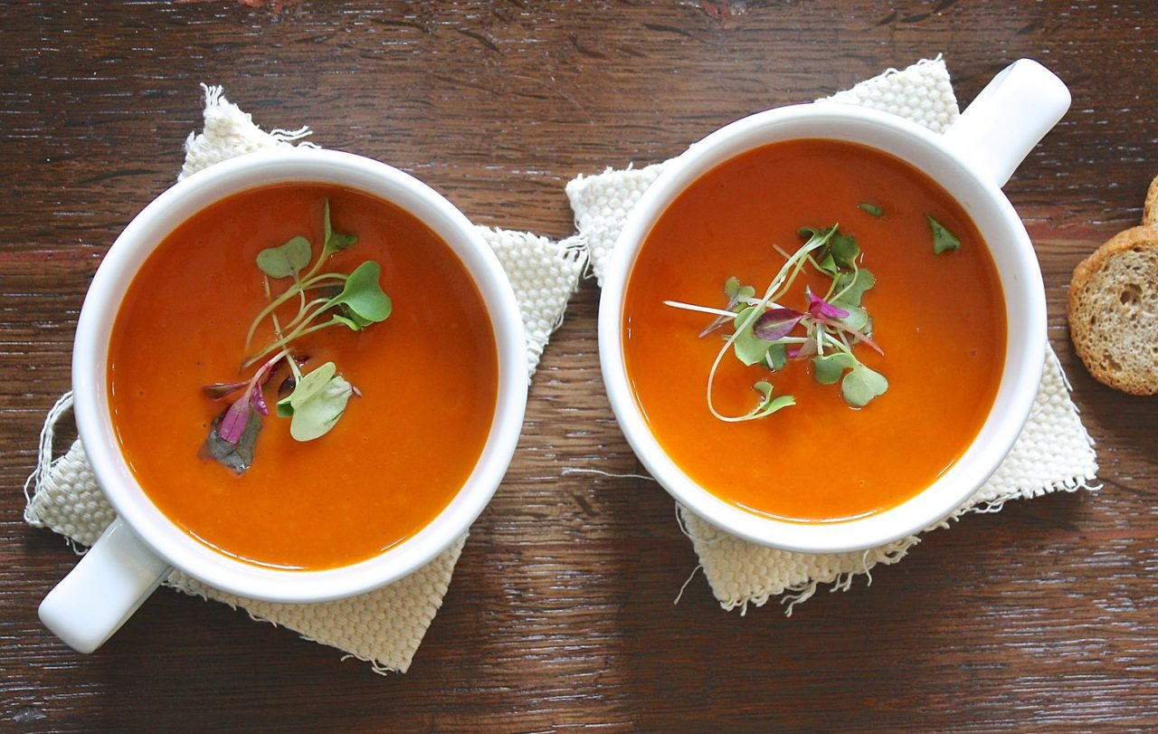 Gazpacho e altre zuppe al gelo