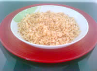 Quinoa nel piatto