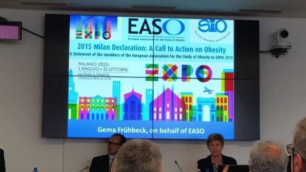 Obesità: presentata all'Expo2015 l'EASO Milan Declaration - unavitasumisura