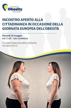 incontro aperto alla cittadinanza giornata europea dell'obesita