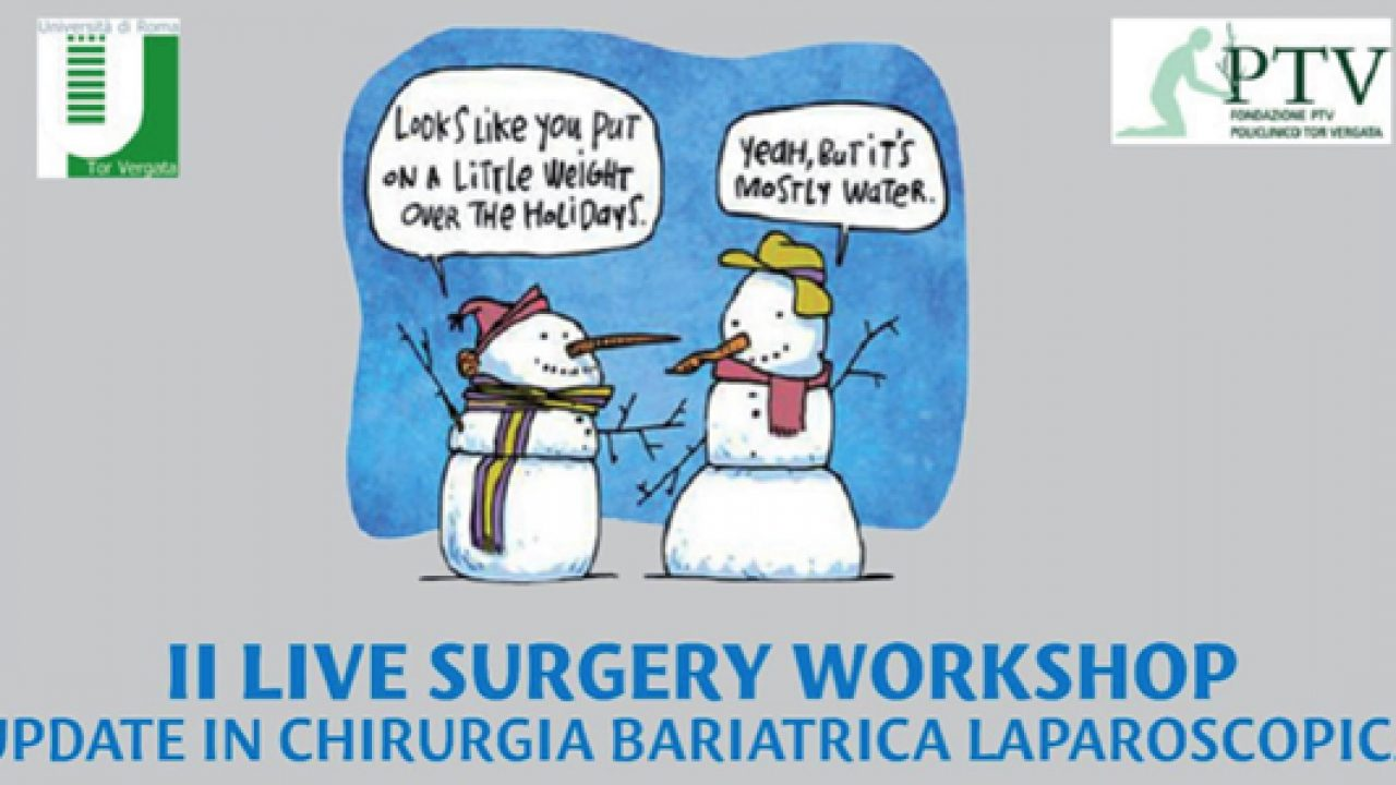 II Live Surgery Workshop 2017 sulla chirurgia bariatrica laparoscopica