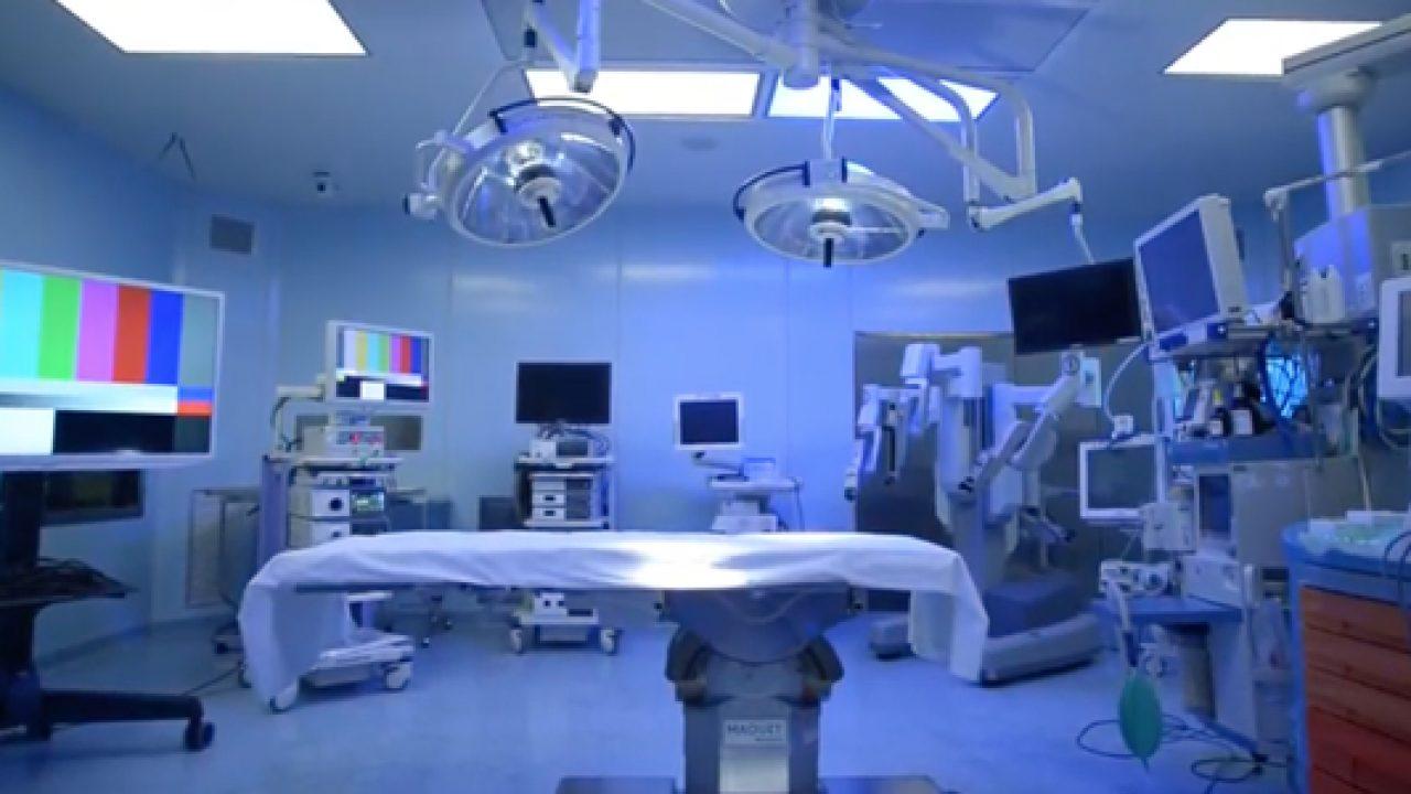 Una sala operatoria dedicata alla chirurgia bariatrica con sofisticata tecnologia