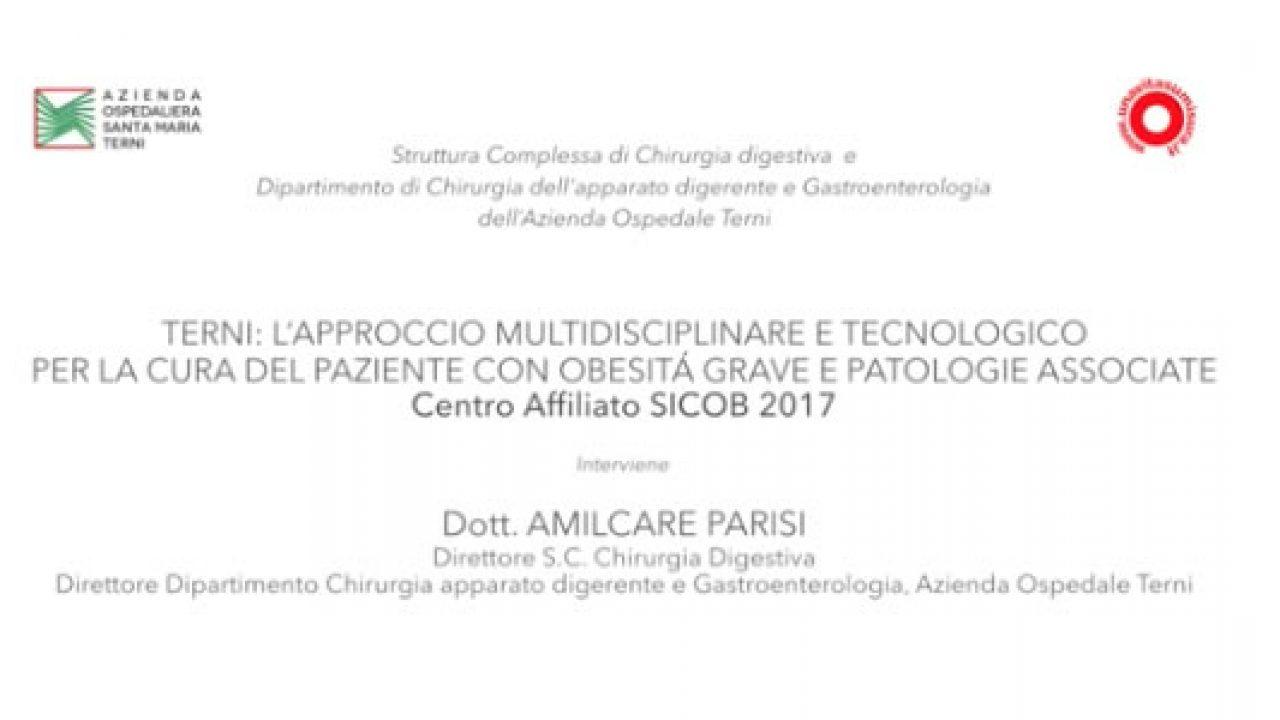 Terni: l'approccio multidisciplinare e tecnologico al paziente con obesità grave