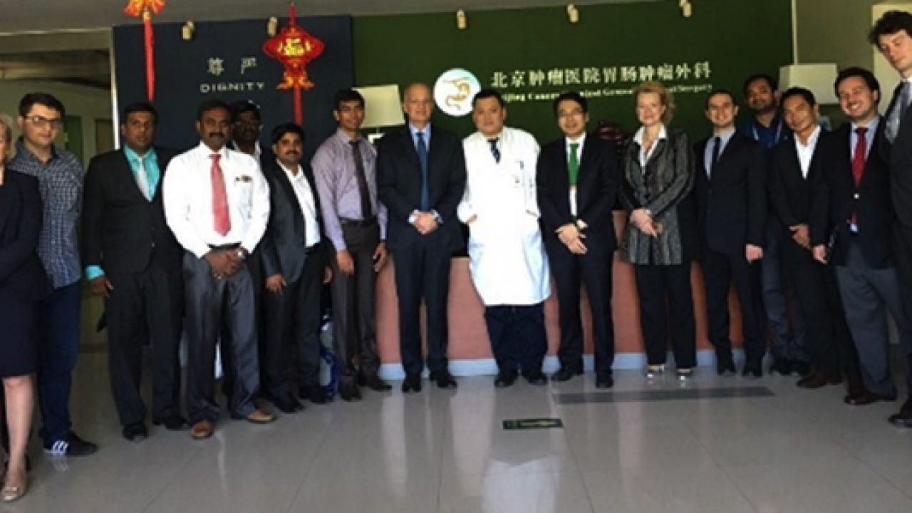 """AO Terni: trattamento innovativo del cancro gastrico, la """"Parisi Technique"""" presentata in Cina"""