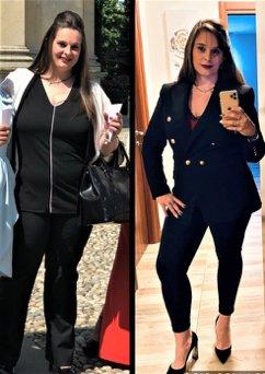 Testimonianza di Giorgia prima e dopo intervento bariatrico