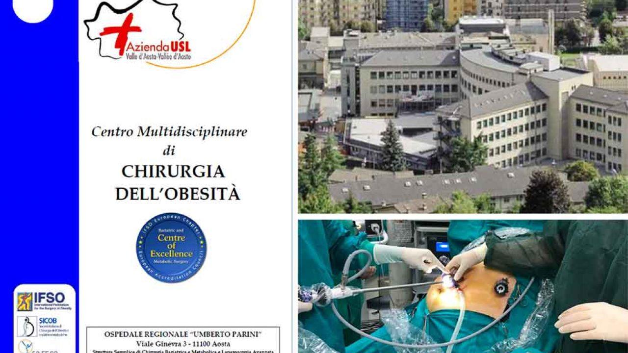 Riparte l'attività della chirurgia bariatrica all'Umberto Parini di Aosta