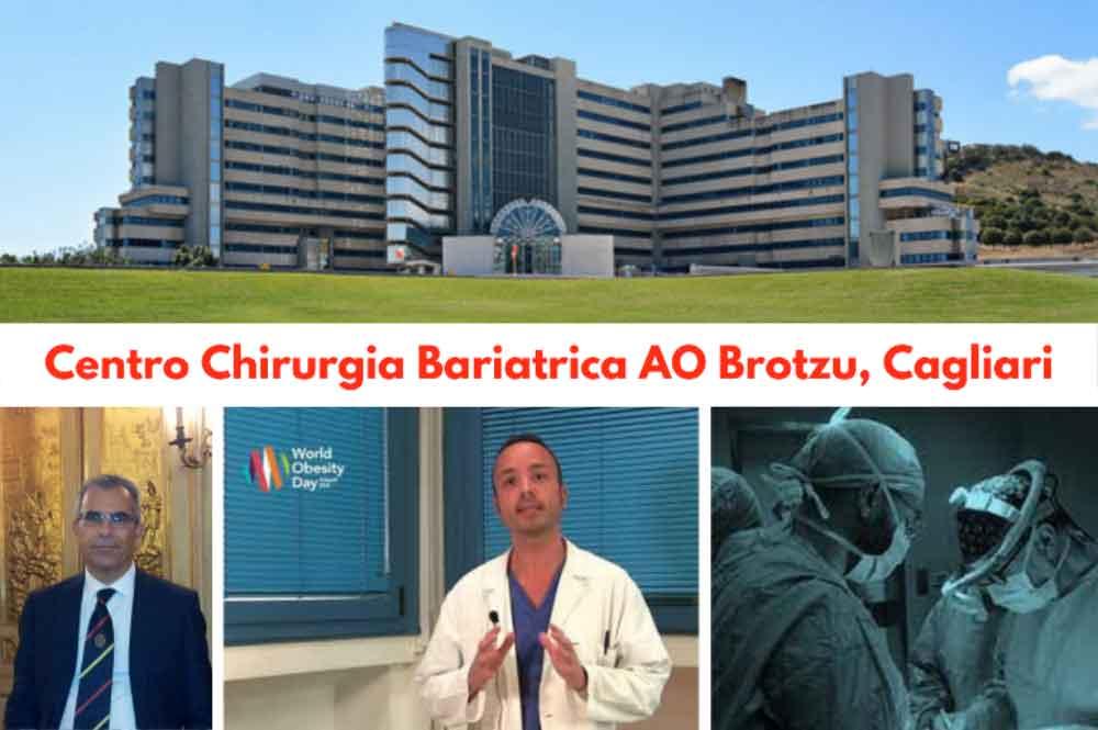 """La cura dell'Obesità al Brotzu di Cagliari: un'eccellenza per la chirurgia mininvasiva, e il """"comfort"""" del percorso post-operatorio"""